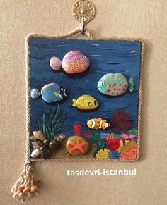 #TABLOM DUVARLARI SÜSLEMEYE HAZIR #tasdevri_istanbul #tasboyama #tasarım #hediyelik #kişiyeözel #stonepainting #artstone #stoneart #rockpainting #evdekorasyonu #hediyelikler #alisveris #elyapımı #handmade #istanbul #yılbası #noel #tasarım #instagood #instalove #instagood #picoftheday #bugununkaresi #sanat #tropical fish#10marifet#hobinisat