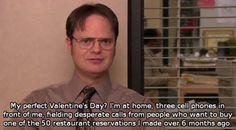 A very Dwight Valentine's day…