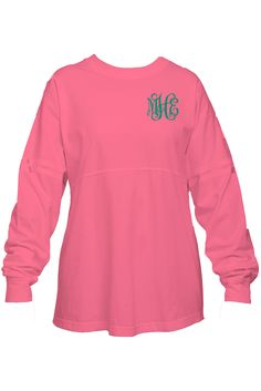 These trendy pullovers are both comfortable and fashionable! Add a monogram or support your favorite team! Personalize this stylish pullover by adding your initials to the front or to both the front a