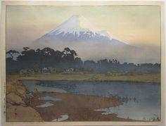 """Hiroshi Yoshida """"Fujiyama - First Light of the Sun"""""""
