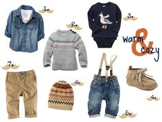 I completely adore little boy clothes. SOO much cuter than little girl clothes I think...