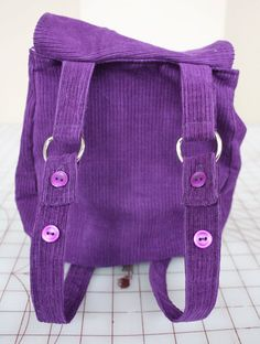 At Second Street: Backpack tutorial and Pattern - toddler but I might be able to make it bigger...