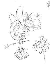 fox snow globe coloring pages - photo#8
