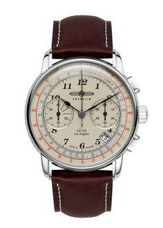 Luxusní pánské hodinky z kolekce LZ126 Los Angeles, které na první pohled zaujmou moderně zpracovaným ciferníkem. Jsou vhodné i jako doplněk
