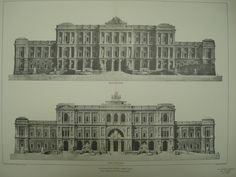 Palace of Justice , Rome, Italy, EUR, 1901, Prof. Guglielmo Calderini