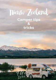 Zit je er aan te denken om Nieuw-Zeeland met een camper te ontdekken? Dan kan ik alleen maar zeggen: doen! Je gaat sowieso de tijd van je leven hebben. Nieuw-Zeeland is hét land om met een camper op avontuur te gaan. In dit artikel delen wij onze beste tips uit 10 weken reizen door Nieuw-Zeeland en geven we je handige tips voor het huren van een camper door Nieuw-Zeeland. Countries To Visit, New Zealand Travel, Auckland, Australia Travel, Travel Inspiration, Travel Tips, Places To Go, Vacation, Explore