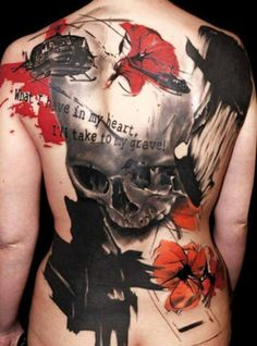 Terrifying Skull Tattoos - Inked Magazine