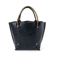 All Purpose Tote in Italian Leather | Exclusively for Toscanella (€216) via Polyvore