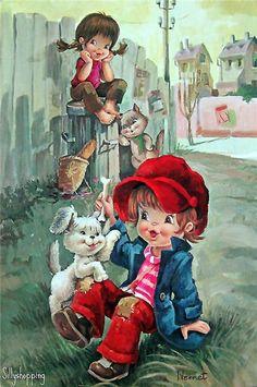 Vintage postcard. Обсуждение на LiveInternet - Российский Сервис Онлайн-Дневников