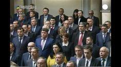 Primera sesión del nuevo Parlamento proeuropeo de Ucrania