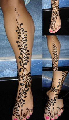 Custom tatoo: free access henna tattoo designs in legs Henna Hand Designs, Henna Designs Drawing, Mehndi Designs 2014, Henna Flower Designs, Tattoo Design For Hand, Stammestattoo Designs, Henna Drawings, Bridal Henna Designs, Flower Henna