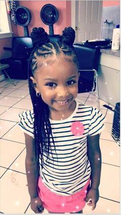 Black Kids Hairstyles, Girls Natural Hairstyles, Baby Girl Hairstyles, Kids Braided Hairstyles, Teenage Hairstyles, Little Girl Braid Hairstyles, Hairdos, Toddler Hairstyles, Protective Hairstyles