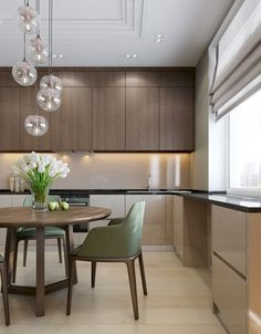 Luxury Kitchens - Regardless of whether you're planning for a move to another house or you essentially need to a kitchen redesign, these astounding kitchen Minimalist But Luxurious Kitchen Design thoughts will prove to be useful. Best Kitchen Designs, Modern Kitchen Design, Modern Interior Design, Interior Design Kitchen, Luxury Kitchens, Home Kitchens, Rustic Kitchen, Kitchen Decor, Design Living Room