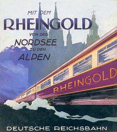 Rheingold, Deutsche Reichsbahn