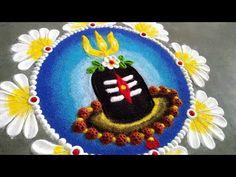 Easy Rangoli Designs Videos, Rangoli Designs Simple Diwali, Rangoli Simple, Rangoli Designs Latest, Rangoli Designs Flower, Free Hand Rangoli Design, Rangoli Border Designs, Small Rangoli Design, Colorful Rangoli Designs