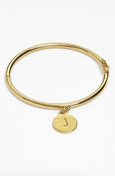 kate spade new york 'one in a million' initial charm bracelet   Nordstrom