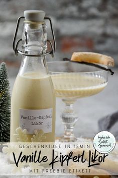 Vanille-Kipferl Likör Vanilla Kipferl liqueur – I made it myself Easy Recipe for Making Ground Beef Wontons at Home - Food dishes Buckwheat Gluten Free Bread - Healthy Recipes Triple Sec, Healthy Recipes, Healthy Eating Tips, Brunch Recipes, Snack Recipes, Snacks, Vanilla Liqueur, Cream Liqueur, Christmas Brunch
