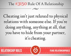 Would you say it's cheating if...?