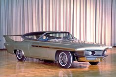 Chrysler Turboflyte, using aerodynamics to style a car. Chrysler Corporation concept cars throughout the and (examiner, Dodge, Weird Cars, Cool Cars, Crazy Cars, Maserati, Lamborghini, Dream Cars, Automobile, Chrysler Voyager