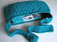 How to sew a lining in a crochet purse