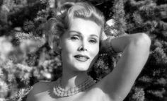 cool Zsa Zsa Gabor, Legendary Actress and Socialite, Passes Away at Age 99  Vogue Runway Check more at http://pinfashion.top/pin/42863/