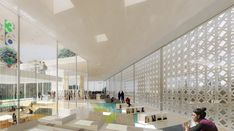 Gallery of National Library of Israel Competition Entry / ODA - 14