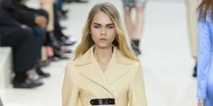 Meet the Danish Model Being Called the Next Cara Delevingne. With her bushy brows and blonde hair, Line Brems says she's flattered by the comparisons.