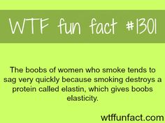 smoke effect on women's breasts MORE OF WTF FACTS are coming HERE Words, movie and fun facts