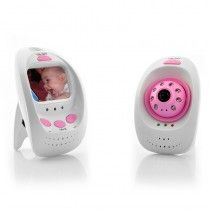2.4GHz Wireless Digital Baby Monitor + Camera - 8 LED Lights, 5 Meter Night Vision Range