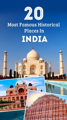 Delve deep into the most famous historical places in India - from the north as well as the south of the country, and unveil the mysteries of the ancient India.