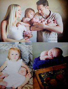 Jay and Erika McGraw with children Avery and London.