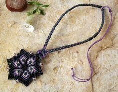 Makramé necklace http://www.meska.hu/Shop/index/17554