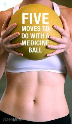 Great medicine ball workout for any level!