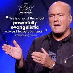 The Case for Christ Movie Christ Movie, Pastor Greg Laurie, Case For Christ, Atheist, Christian Faith, Word Of God, True Stories, I Movie, How To Apply