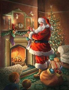 happynewyear christmas new happy feliz navidad love noel christmastree ny newye Old Time Christmas, Christmas Scenes, Old Fashioned Christmas, Christmas Past, Vintage Christmas Cards, Christmas Pictures, Winter Christmas, Xmas, Father Christmas