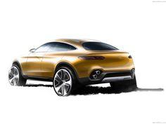 Mercedes-Benz GLC Coupe Concept (2015)