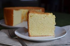Playing with Flour: Chiffon cake