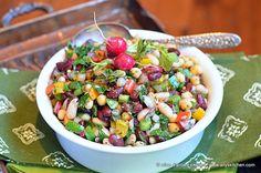 Ally's Kitchen – ~spicy bean salad~