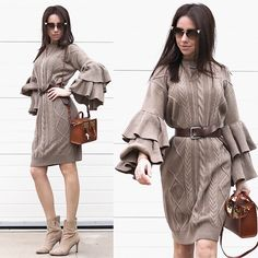 Get this look: http://lb.nu/look/8631149  More looks by Perventina Ols: http://lb.nu/perventina  Items in this look:  Sophie Hulme Bag, Fendi Sunglasses, Zara Boots   #elegant #romantic #street