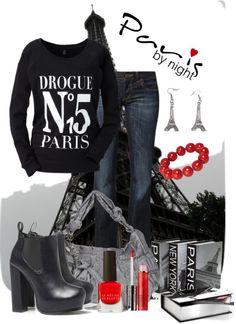 """~Paris~"" by mels777 ❤ liked on Polyvore"