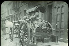 How New York City Used to Use Horses -- NYMag - Fire Truck