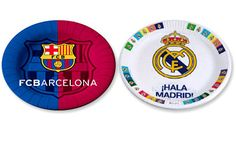 Great party ideas and supplies of your favorite teams, FC Barcelona and Real Madrid! Soccer Theme, Soccer Birthday, Soccer Party, Sons Birthday, Birthday Parties, Birthday Ideas, Barcelona Party, Fc Barcelona, Party Themes