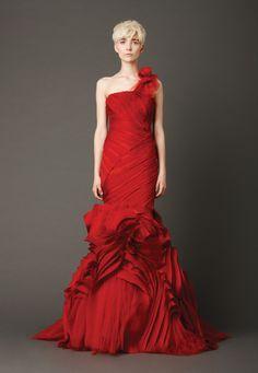 Quand les couleurs diverses s'invitent dans la robe de mariée (Ⅰ)  voir plus : http://www.robesdemariage.net/2013/06/24/quand-les-couleurs-diverses-sinvitent-dans-la-robe-de-mariee-%E2%85%A0/