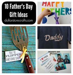 10 DIY Father's Day Gifts