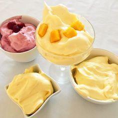 Keine Kalorien, kein Zucker, kein Fett, aber lecker, fluffig und moussig: der Protein-Fluff für alle, die gerne ohne schlechtes Gewissen schlemmen wollen!