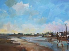 David Atkins latest paintings at the Fairfax Gallery. Oil on Canvas & Oil on Board paintings
