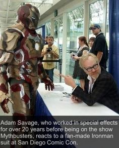 Oh how I love adam savage
