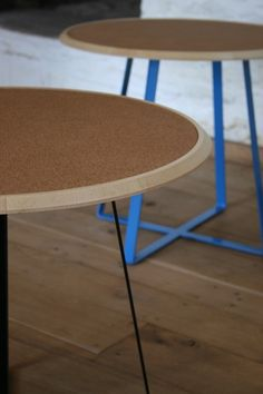 Cork Table by @barnbydesigns #design #furniture  http://thedesignforum.wordpress.com/2012/05/16/robert-banbys-practical-magic/#