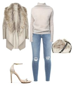 """Untitled #4314"" by browneyegurl ❤ liked on Polyvore featuring Frame Denim, River Island, Calvin Klein, Rick Owens and Topshop"