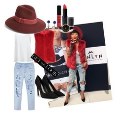 """""""Steal her style: South African DJ @DJ Zinhle!"""" by koodita ❤ liked on Polyvore featuring Jockey, Topshop, Phase 3, CHARLES & KEITH, NYX, New Look, LULUS, GetTheLook and hats"""